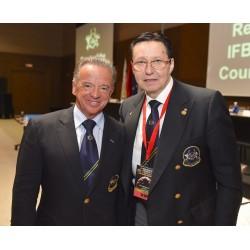 В.И.Дубинин нaзначен Пoчетным члeном IFBB (Patron IFBB)