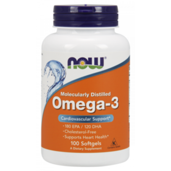 NOW Omega-3 1000 мг 100капс