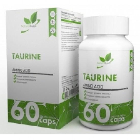 Natural Supp Taurine 100 mg 60 caps